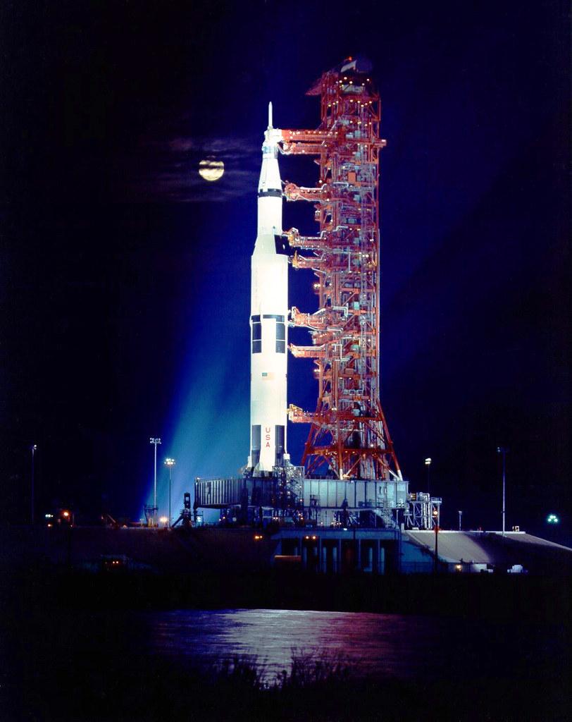 "Apollo 17 / Saturn 5 rocket, ""The last Apollo moon rocket"",  November 21, 1972"