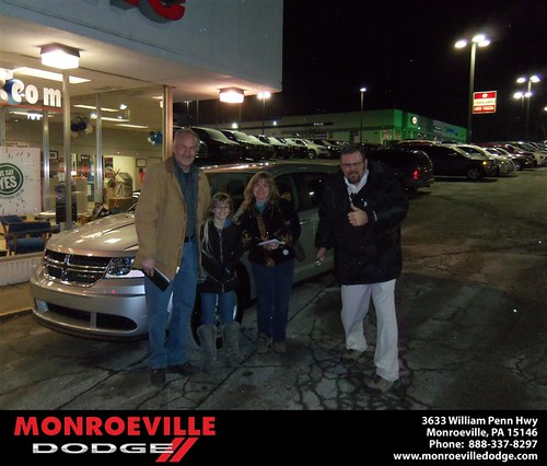 Happy Anniversary to Ken M Lang on your 2013 #Dodge #Journey from James Platt  and everyone at Monroeville Dodge! #Anniversary by Monroeville Dodge