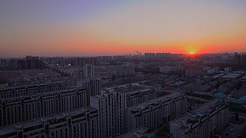 "china city winter sunset cloud sun building canon high community sundown chinese beijing 5d 365 24mm hdr ii"" 365project mark"" 5dmarkii 5dmark"