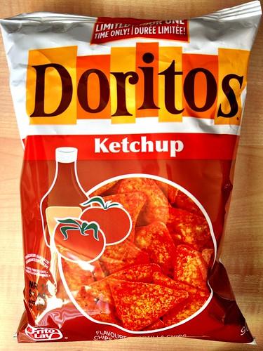 Ketchup Doritos by Renée S. Suen