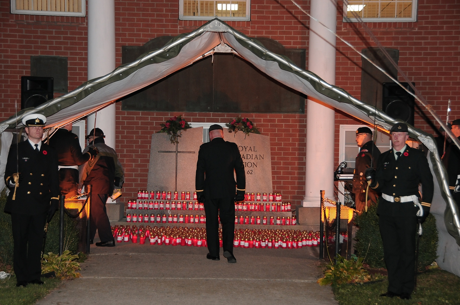 Royal Canadian Legion Br. 62's Candle Light Vigil