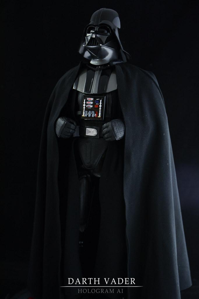 Darth Vader 3.5 in figure; Applause bent saber /& base