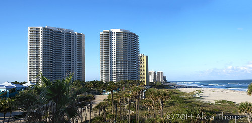 Singer Island, Florida Pano by Alida's Photos