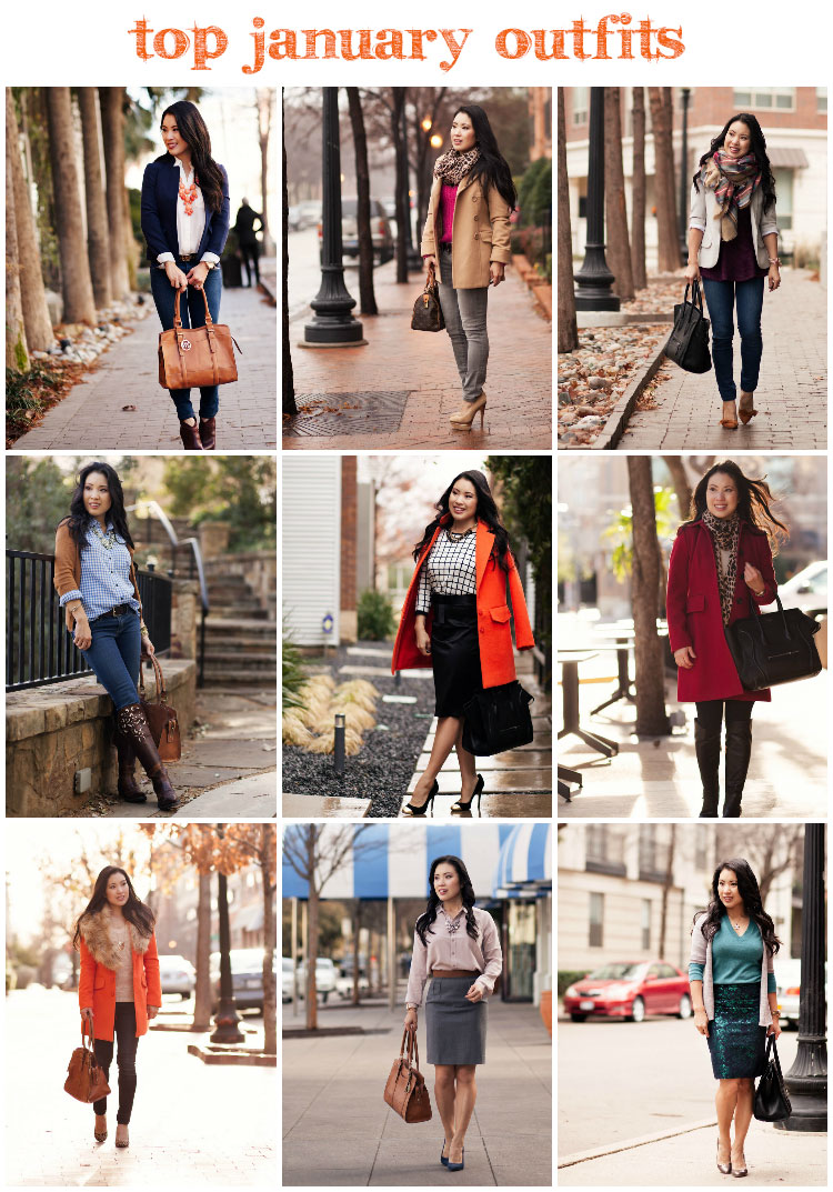 cute & little blog | Top Outfits of January 2014