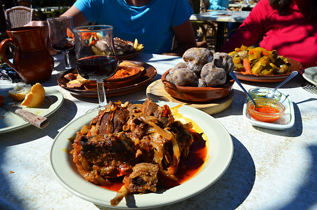 Canarian cuisine, Casa Pana, Vilaflor, Tenerife