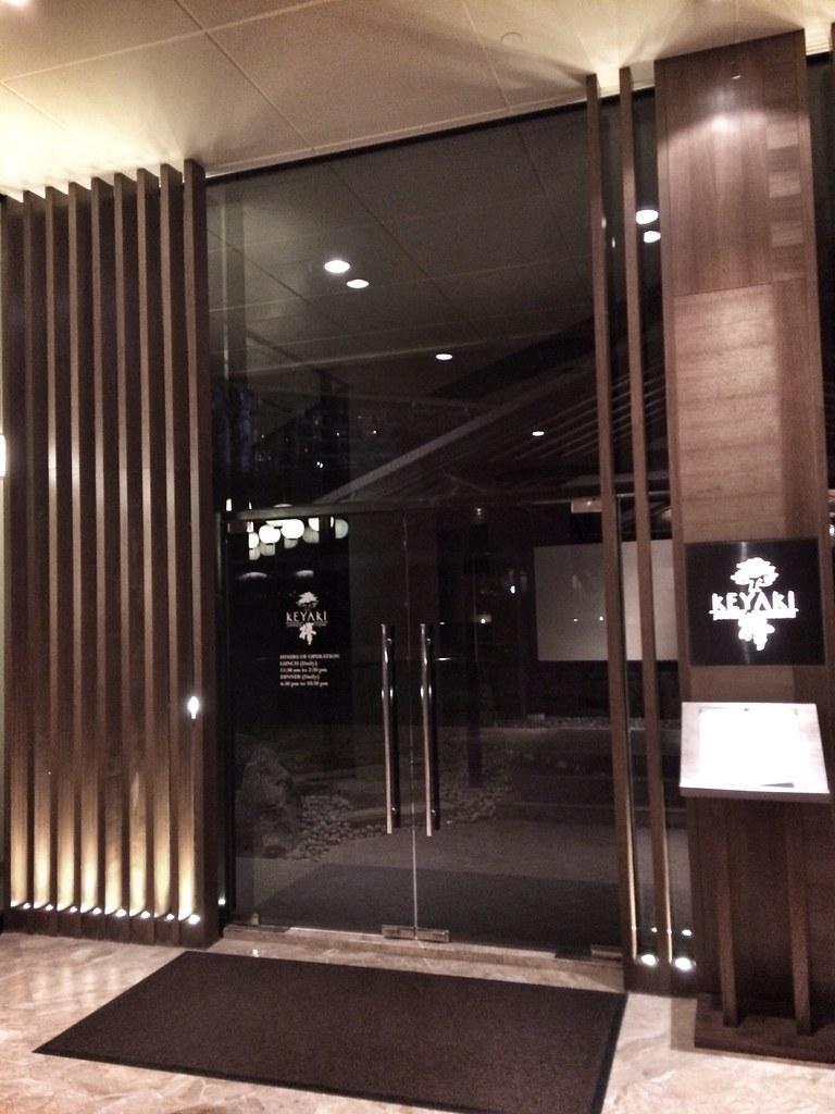 Keyaki, Pan Pacific Hotel