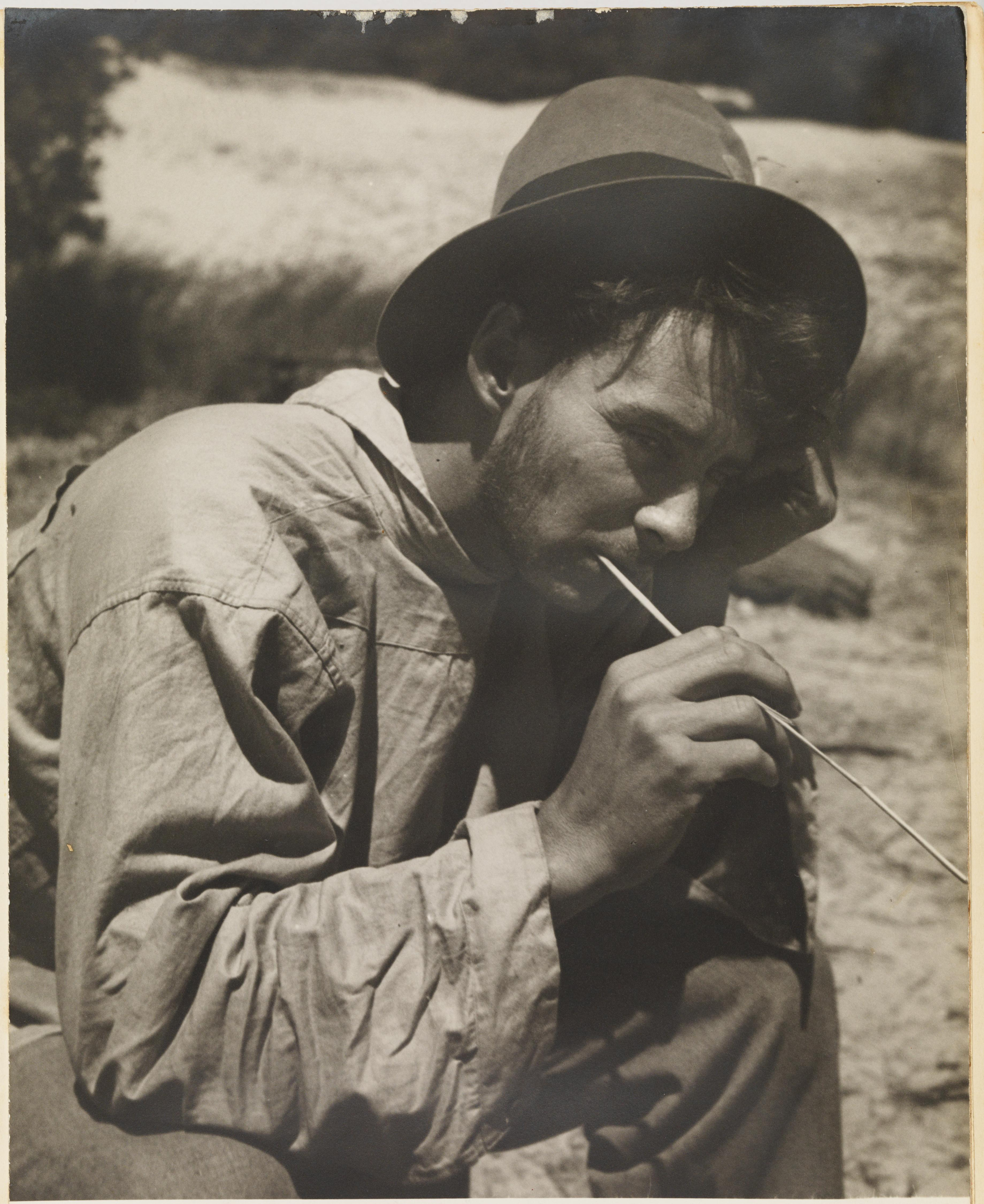 Max Dupain by Olive Cotton from Camping trips on Culburra Beach by Max Dupain and Olive Cotton