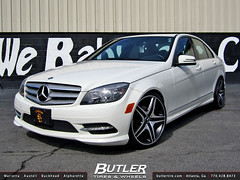 The world 39 s most recently posted photos of c300withwheels for Mercedes benz c300 tire size