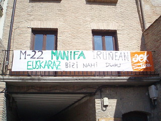 pankarta euskaltegian