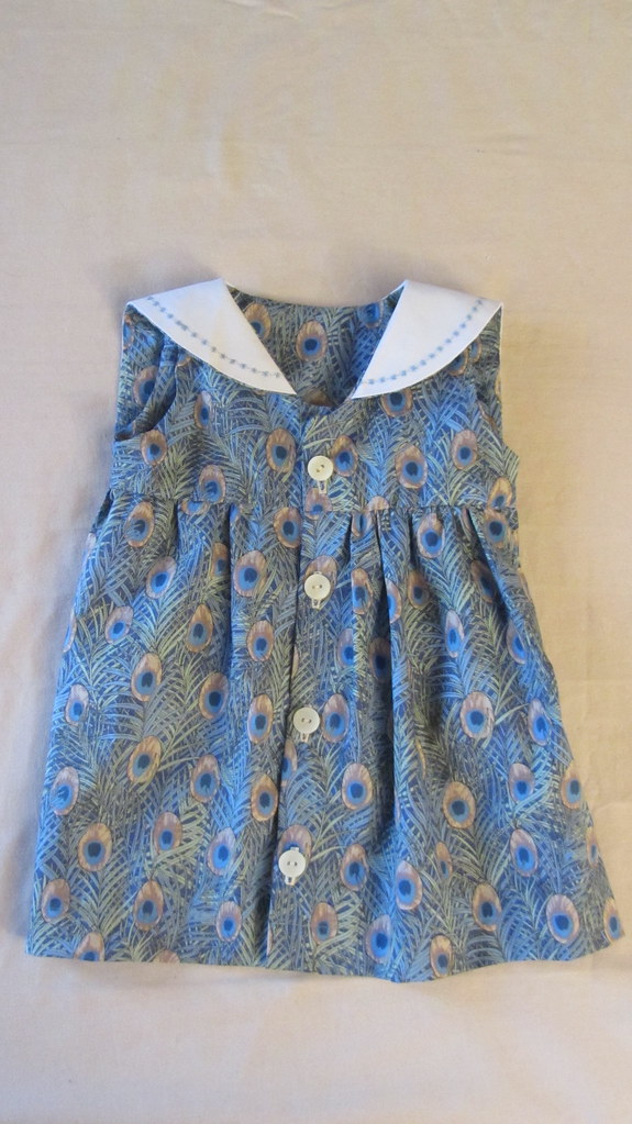 Peacock Sailor dress