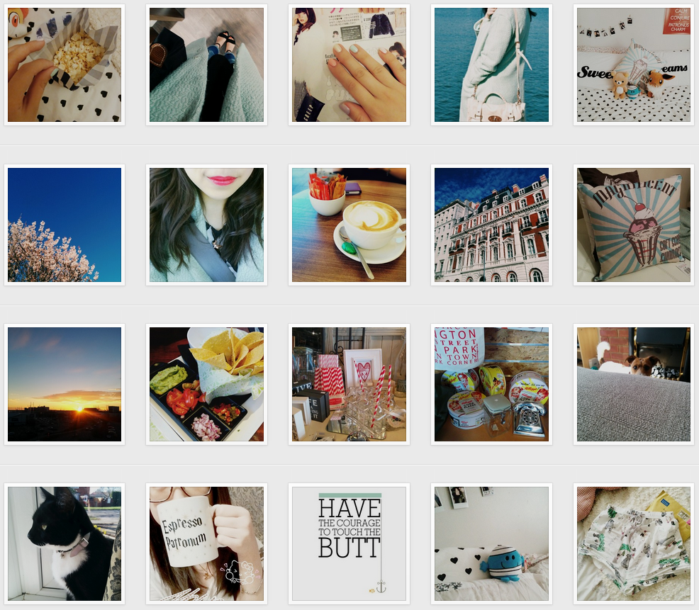 Daisybutter - UK Style and Fashion Blog: My Instagram Way, how to make the most of instagram, alternative instagram