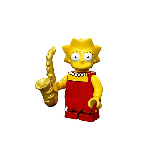 71005 The Simpsons Collectable Minifigures Lisa Simpson