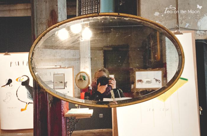 Oliver Jeffers selfie