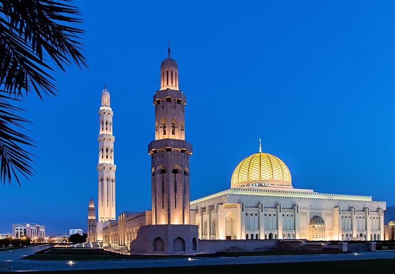 Sultan Qaboos Grand Mosque, Musqat, Oman