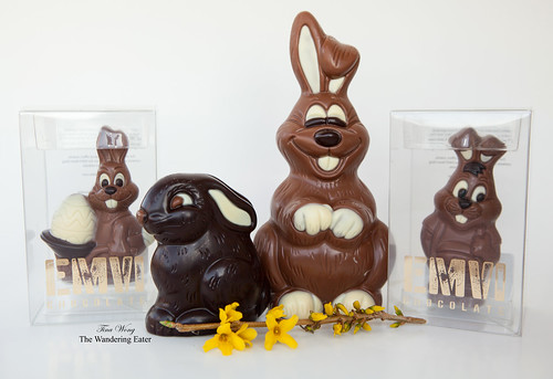 Easter chocolates from EMVI Chocolate