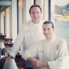 Chef Bernard Guillas and Chef Ron Oliver of the #marineroom - Looking forward to their custom menu for the#bestofthebest May 8! www.ecgallery.com