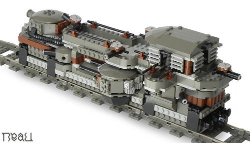 Lego Steampunk Train Flickr The Lego Steampunk