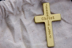 religious item, symbol, yellow, cross,