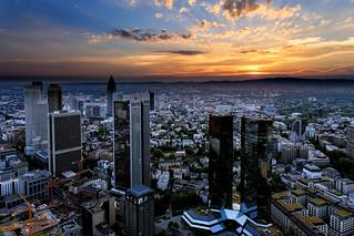 Frankfurt Sunset