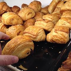 dessert(0.0), croissant(0.0), baking(1.0), baked goods(1.0), bakery(1.0), food(1.0), viennoiserie(1.0), cuisine(1.0), danish pastry(1.0),