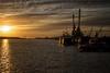 tramonto a klaipeda