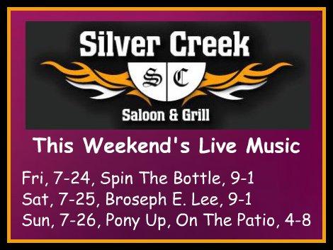 Silver Creek 7-24 thru 7-26-15