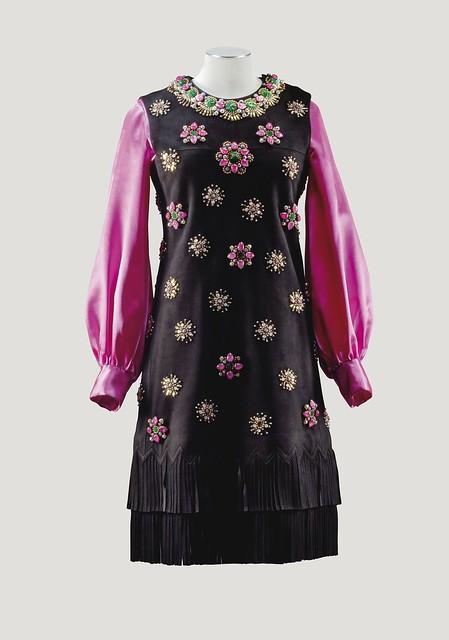 Yves Saint Laurent Haute Couture, automne-hiver 1968-1969 - Lot 70