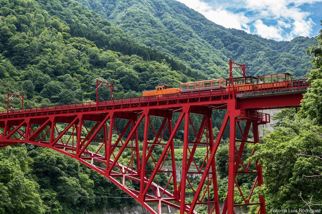 Tren de Kurobe