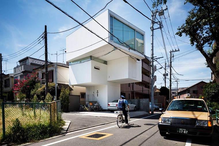 住宅密度大於高度,東京建築「怪宅」林立16