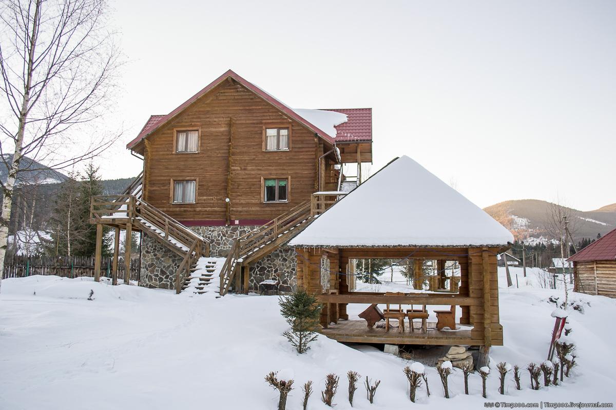 Удивительное место и тихий отель в Карпатах