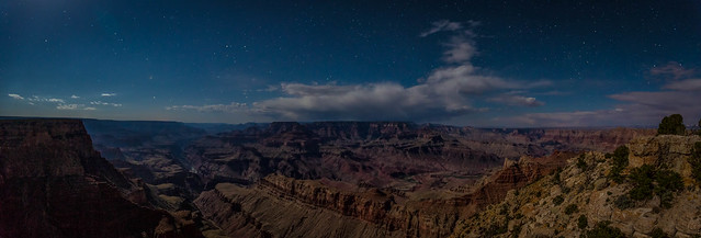Canyon Moonscape