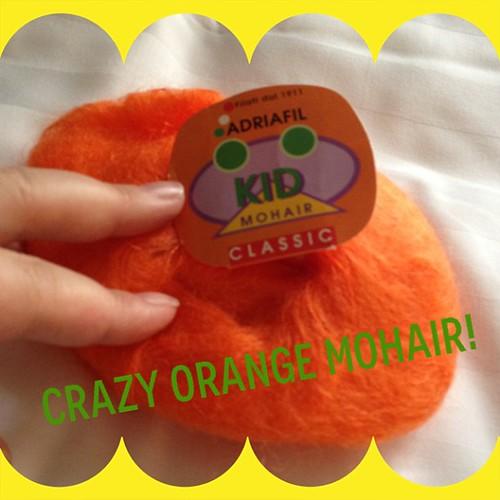 Crazy kid mohair #knitgeek