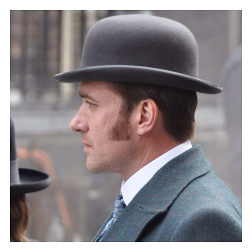 Matthew Macfadyen on the ripper street set in #Dublin