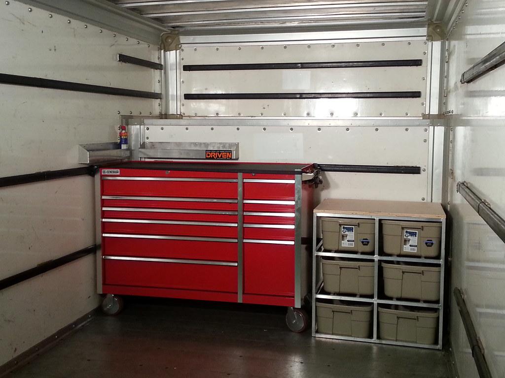 My 17 Uhaul Toy Hauler Truck Conversion Amp Toterhome