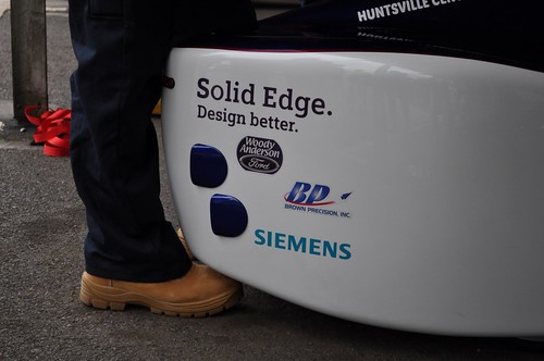 Solid Edge used in the design of Greenpower Team USA's electric vehicle