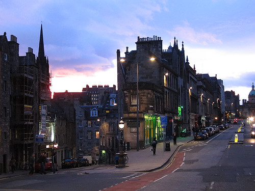 Edinburgh @ dusk