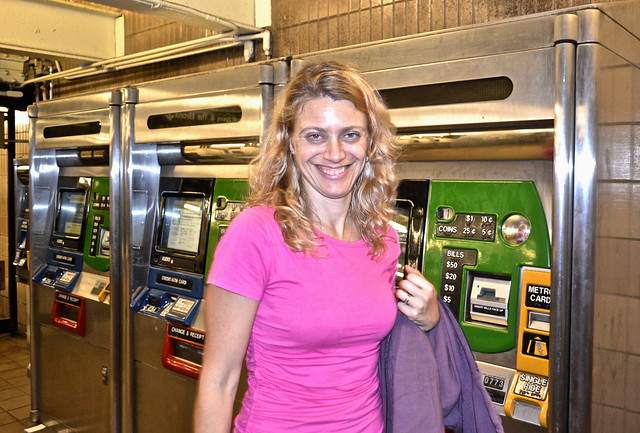 nyc subway metro card machines