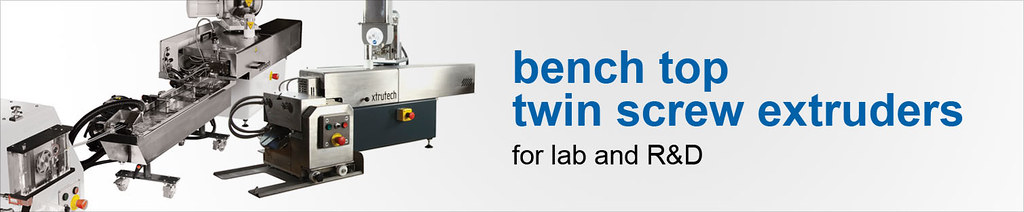 Bench top twin screw extruders