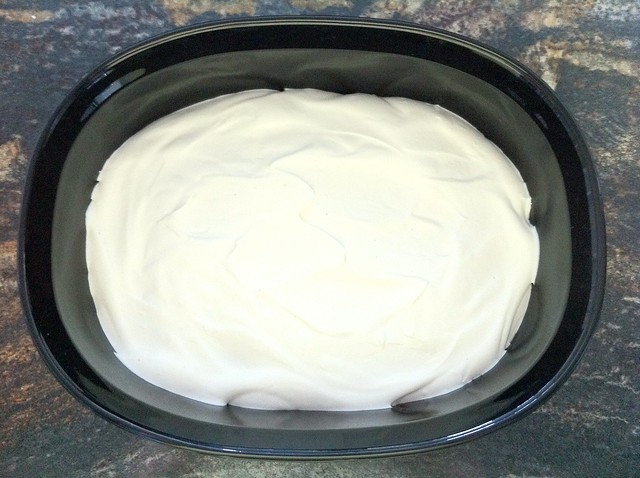 Mascarpone Whipped Cream Layer