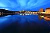 黑燁湛藍 ~Twilight and night view of  of  Karlův most (查里大橋 ) ~ by PS兔~兔兔兔~