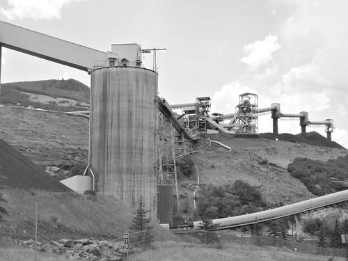 sky blackandwhite colorado mine somerset mining coal smalltown westelkmountains
