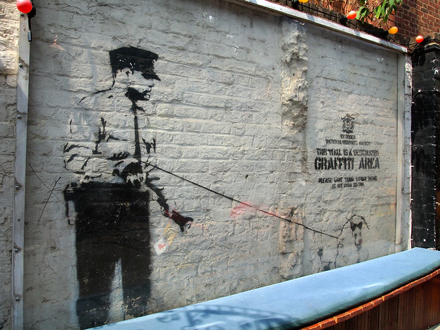 East End Banksy