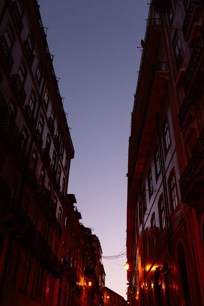 Lisbon Afalma dusk twilight