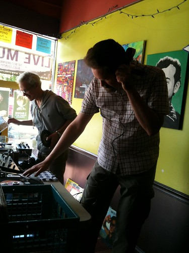 The Thrifty Discount DJs at Steel City Coffee House Phoenixville PA