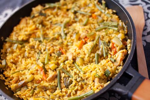 Arròs-sec-amb-pollastre-i-verdures-2