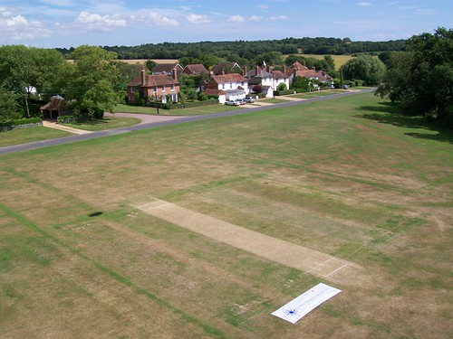 KAP Banner on The Green at Woodchurch Kent UK 4.8.13.