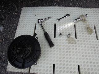 アクティバン ブロアモーター交換工具一式