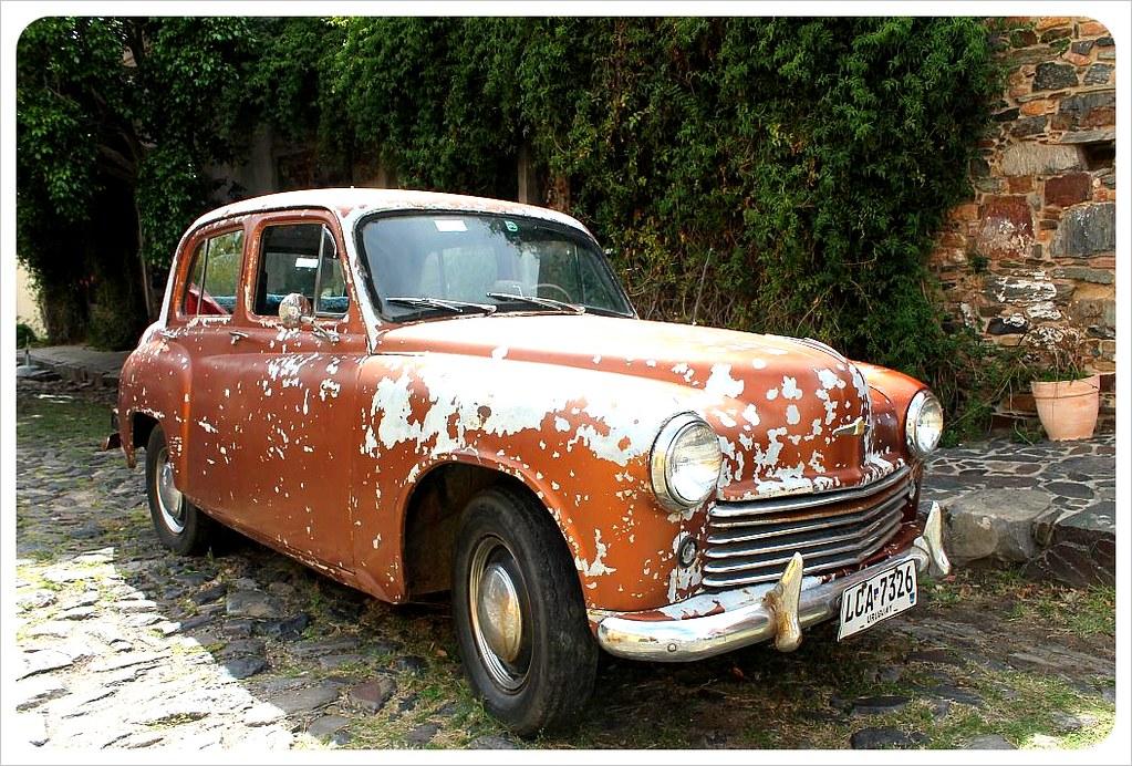 uruguay vintage car