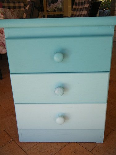 Ombre Bedside table