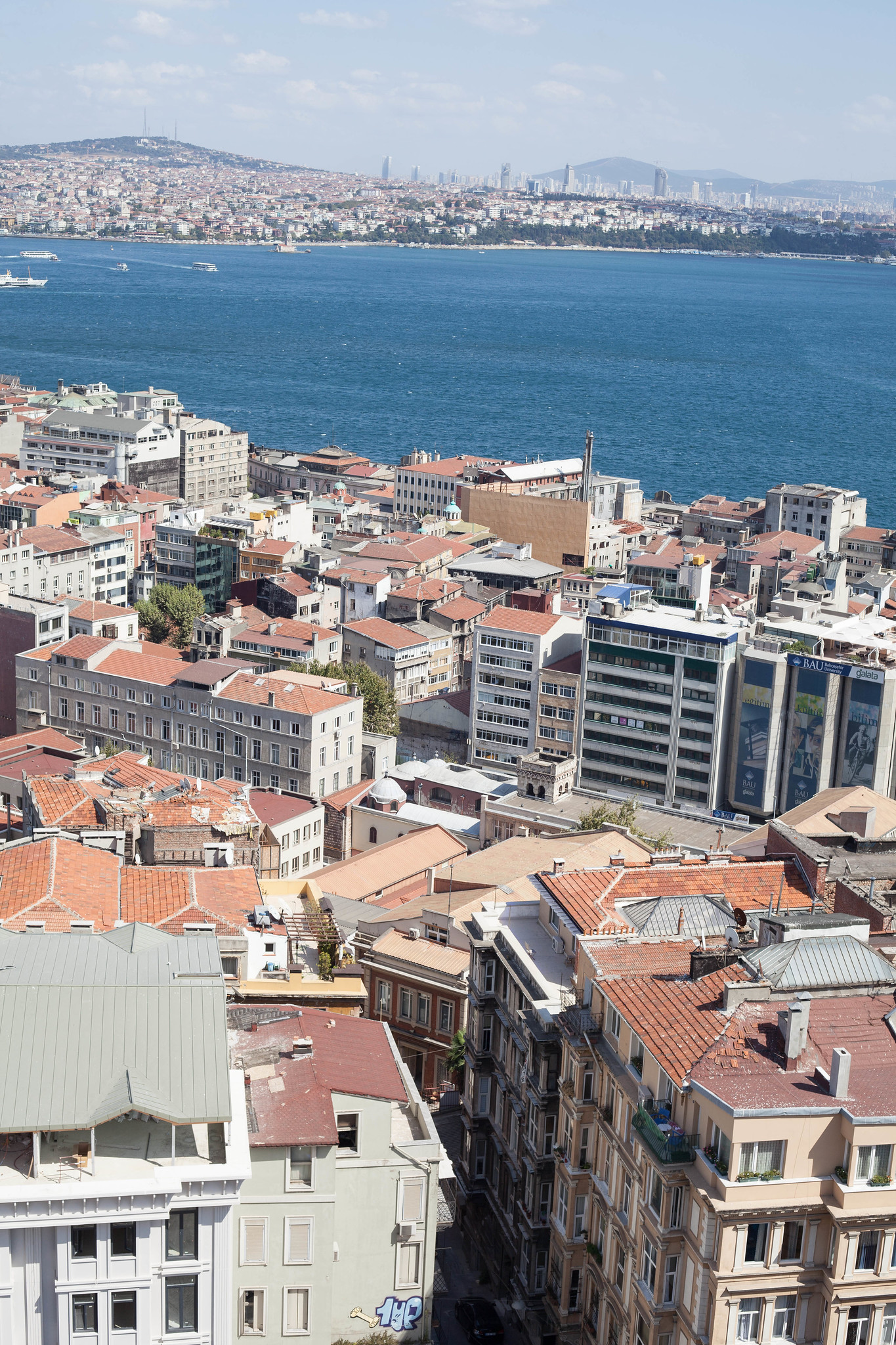 Our apartment from Galata Tower.